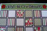 Paper on Canvas Advent Calendar