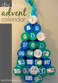 K-cup Advent Calendar Tutorial