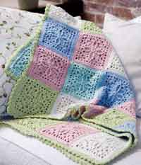 Over 200 Free Crocheted Afghan Patterns at AllCrafts.net : free crochet quilt patterns - Adamdwight.com