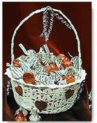 Another Crocheted Basket