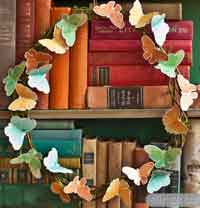 DIY Spring Butterfly Wreath