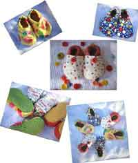 Baby Cloth Shoes Pattern