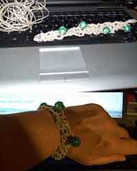 Hemp & Bead House Bracelets
