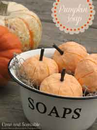 DIY Pumpkin Soap