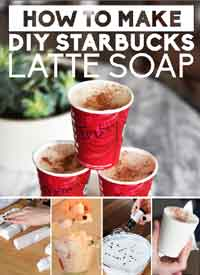 DIY Starbucks Soap