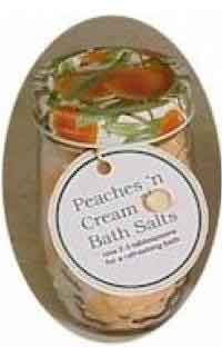 Peaches and Cream Bath Salts