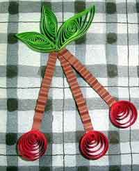Quilled Cherries by Amy Tree