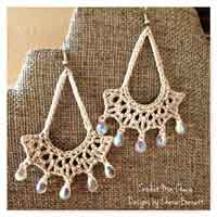 Over 100 free crochet earring projects tutorials and patterns at teardrop earrings free crochet pattern dt1010fo