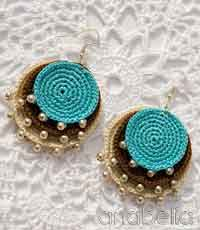 Crochet earring patterns choice image knitting embroidery designs over 100 free crochet earring projects tutorials and patterns at boho turquoise crochet pendant and earrings dt1010fo