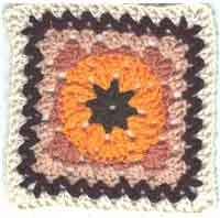 8 inch Pumpkin Patch Square