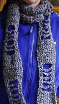 Skeleton Scarf