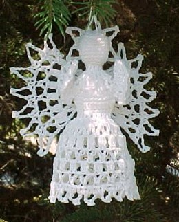Crochet Geek : Crochet Thread Angel - Ornament - Book Marker