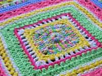 Faeries- Sampler Baby Afghan Pattern