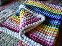 Over 200 Free Crocheted Afghan Patterns at AllCrafts.net : crochet quilt pattern - Adamdwight.com