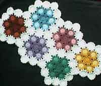 Over 200 free crocheted afghan patterns at allcrafts flower power yo yo afghan ccuart Image collections