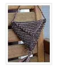 Triangle Evening Purse