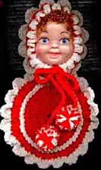 Doll Face Potholder