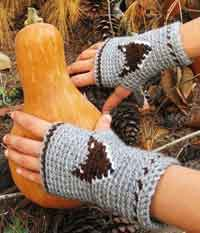 Mr.Fox Fingerless Mitts