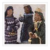 Crocheted Three Wise Men
