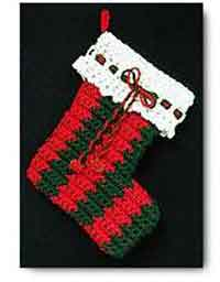 Crocheted Stocking