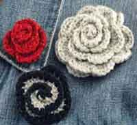 Crocheted Rosette
