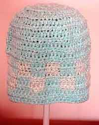 Crochet Blocks Hat