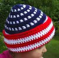 Patriotic Toddlers Hat
