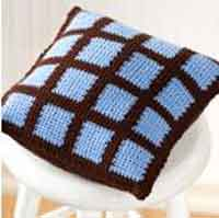 Two-Color Pillow
