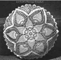 Pineapple Doily or Pillow
