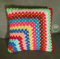 Over 100 free crocheted pillow patterns at allcrafts free contemporary granny square pillowcase dt1010fo