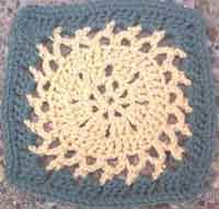 7 inch Sunflower Square