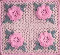 Irish Rose Pillow-ghan Square
