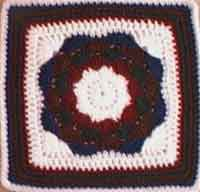 Octagon Medallion 12  Square