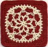 Velvet and Lace Square
