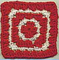 5 inch Peppermint Square