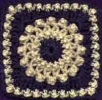 6 inch Antique Pearls Square