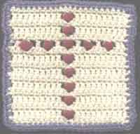 6 inch Cross Square
