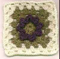 6 inch Marys Flower Granny Square