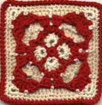 6 or 7 inch Gothic Square
