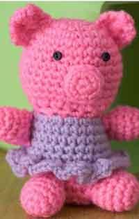Over 300 Free Crochet Toy Patterns at AllCrafts.net