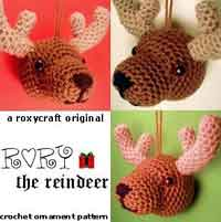 Rory the Reindeer Ornament
