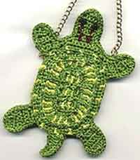 Snapping Turtle Amulet Bag