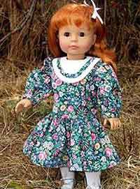Drop-Waist American Girl Doll Dress