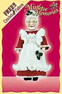 Crochet Mrs. Claus Pattern