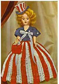 Miss USA Doll Dress
