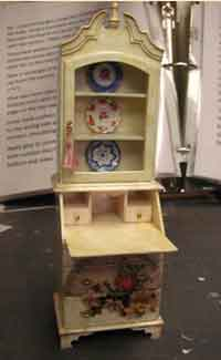 Miniature Dollhouse Desk Tutorial