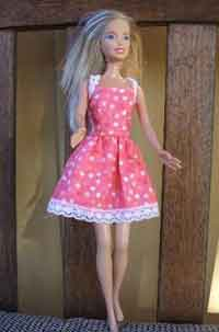 Vintage Barbie Doll Dress Tutorial