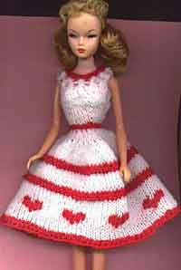 6 Pretty Crochet Doll Dress - Free Patterns - DIY 4 EVER | 298x200