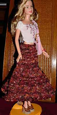 Prairie Skirt for Barbie