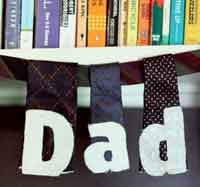 Father?s Day Tie Bunting